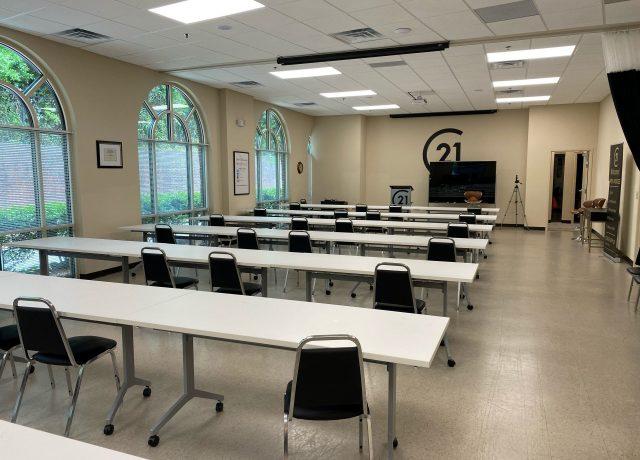 C21 modern classroom